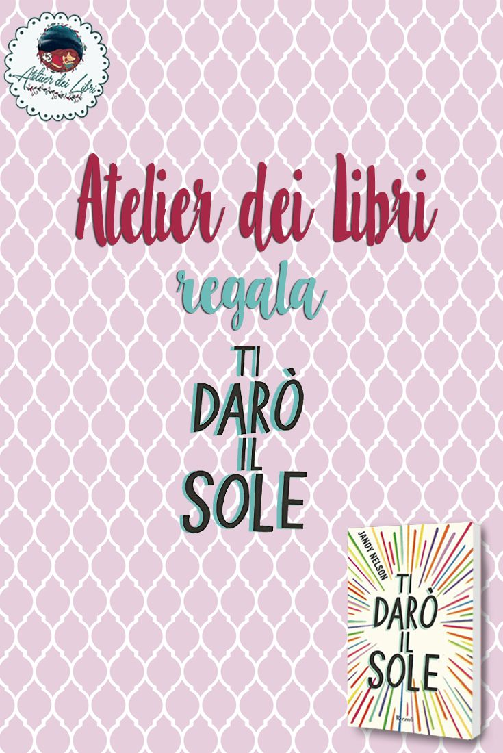 Condivisione del banner su Pinterest usando l'ashtag #AtelierDeiLibri