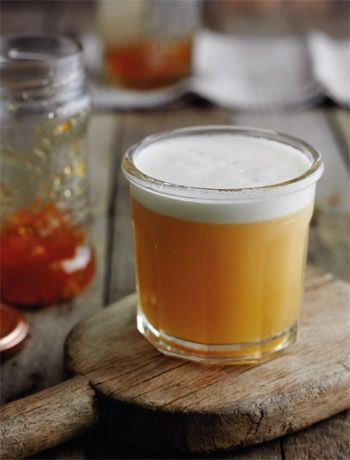 Marmalade rum cocktail
