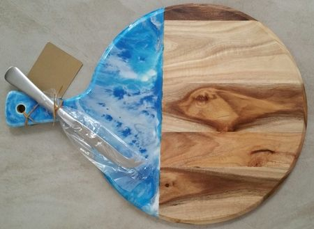 Resin Art Cheese Platter MOTHERS DAY SPECIAL %28Ferntree Gully%29