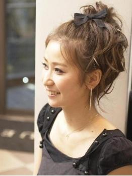 ヘア サルーン マイア hair saloon maia町田の写真/浴衣にもバッチリ似合う♪maiaイチオシのヘアセット¥2500☆豊富な経験を積んだスタイリストによるセット☆