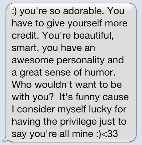 17 Best images about Cute text Messages.<3333 on Pinterest ...