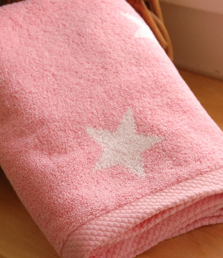 Stars pink törölközőnk egy tökéletes ajándék tinilányoknak, garantáltan imádni fogják!