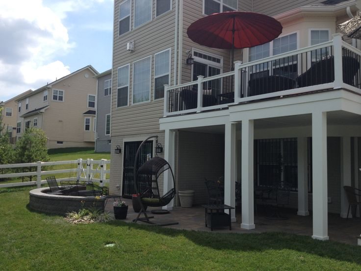 Deck Bowie Md Fiberon Horizon Composite Decking Ipe