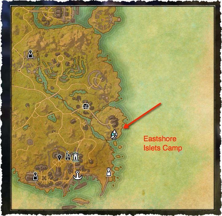 Secret Crafting Spot Eastshore Islets Camp Elder Scrolls Blog Posts Crafts