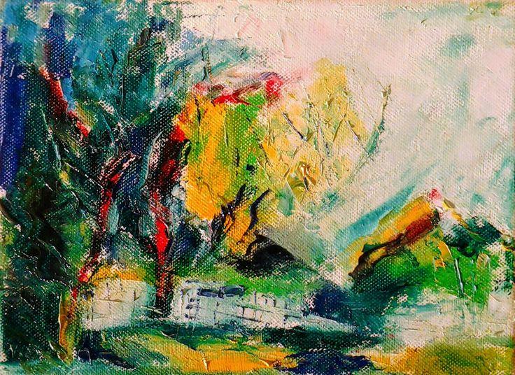 Landscape (oil) - vissarion g
