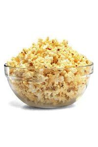 <center> Rather than reaching for the crisp packets, opt for a much-lower-cal option – popcorn! Look for oil-free microwave popcorn or brands that are air-popped or popped in oils such as olive or canola.