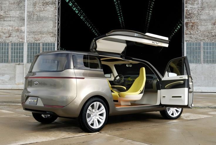 Minivan concept rear view  www.kia.com