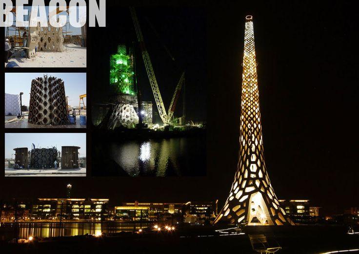 Beacon,  Dubai  Rapid Concept Designs  Urban Art Projects
