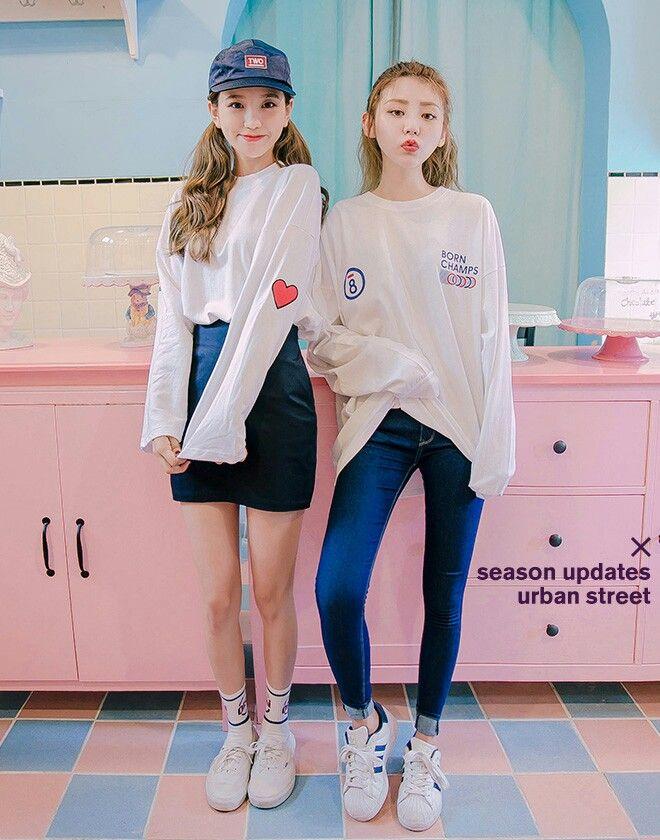 Korean girls photoshoot from. Korea website.