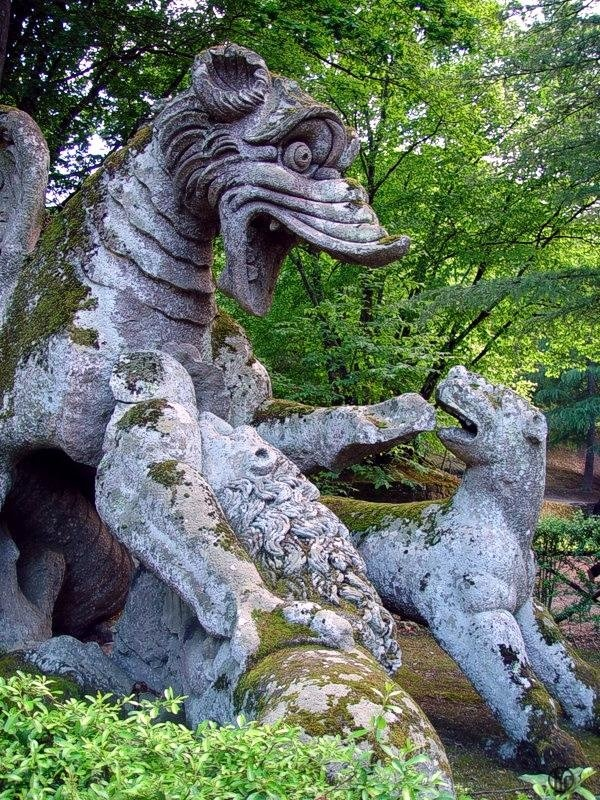 26 best bomarzo garden, italy images on Pinterest | House gardens ...