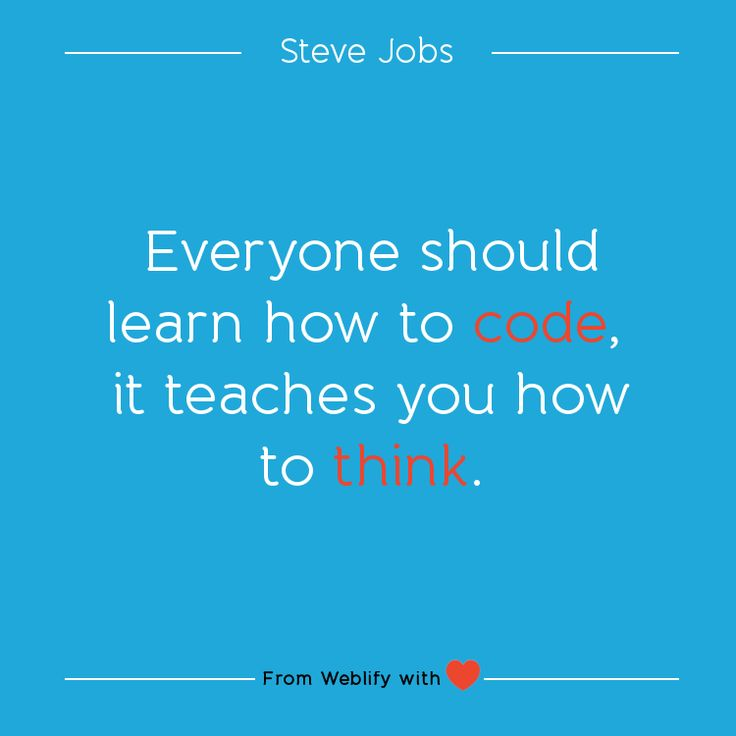 Inspiring coding quotes: Steve Jobs