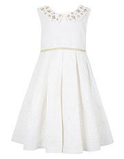Glitter Jacquard Dress
