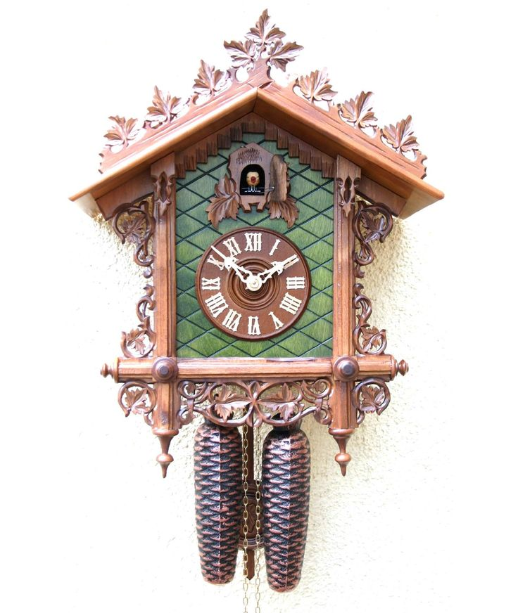 9 besten railroad house clock from the black forest bahnh usle uhren aus dem schwarzwald bilder. Black Bedroom Furniture Sets. Home Design Ideas