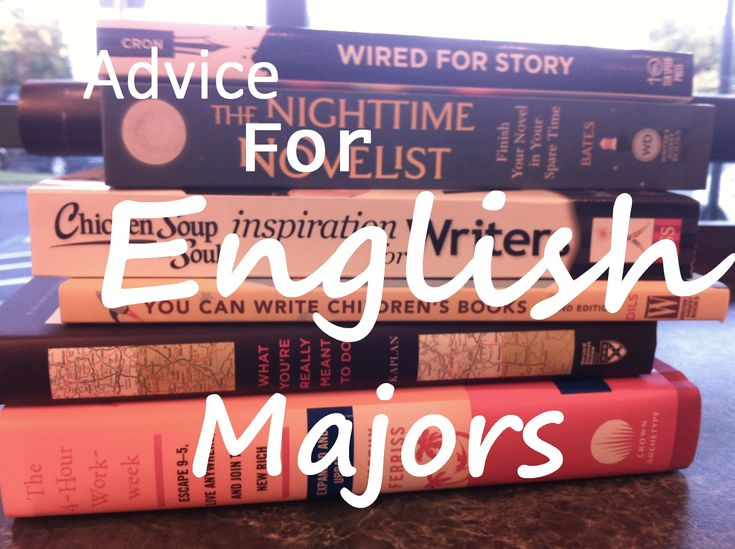 If you're good at writing, what is a good major?