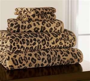 Leopard Towels <3