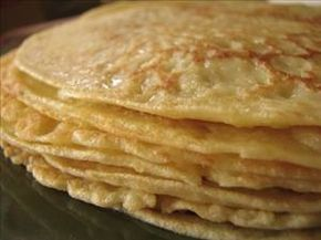 Low Carb - Egg Crepes - 2 tbsps heavy cream & 2 eggs then you can sweeten with some splenda, cinnamon & butter and add toppings of your choice!!!