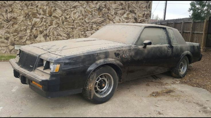 Two 1987 New Buick Grand Nationals in storage 30 years
