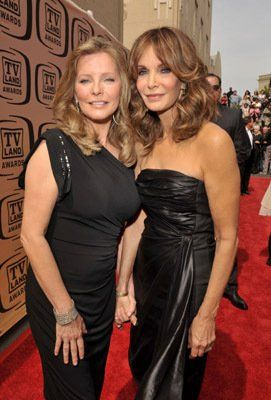 Jaclyn Smith and Cheryl Ladd