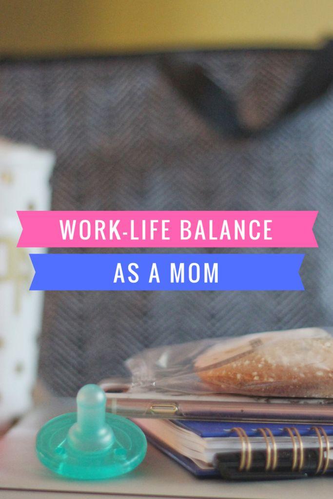 7 Tips for Work-Life Balance as a Mom