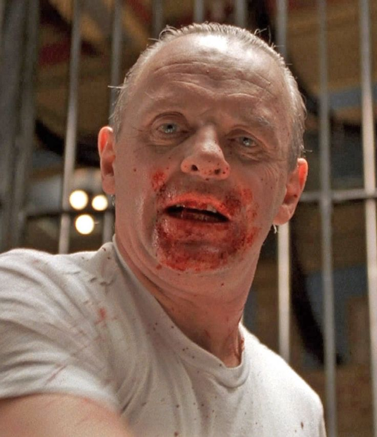 """""""The Silence of the Lambs"""" 1991 Anthony Hopkins"""