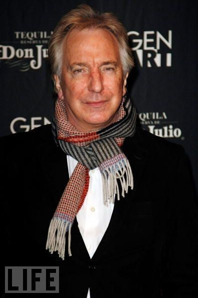 "November 19, 2008 - Alan Rickman at the New York premiere of ""Noble Son"" at the Landmark Sunshine Theater in New York City."
