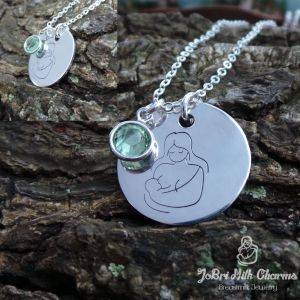 12 best images about breastmilk jewelry on pinterest for When can babies wear jewelry