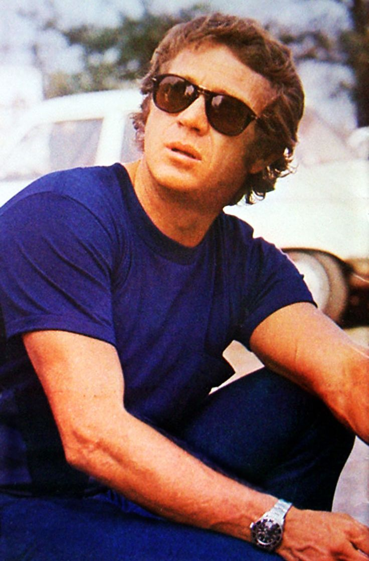 Steve McQueen x Rolex x Persol. Steve McQueen - The King of Cool.  Persol - The iconic sunglasses.