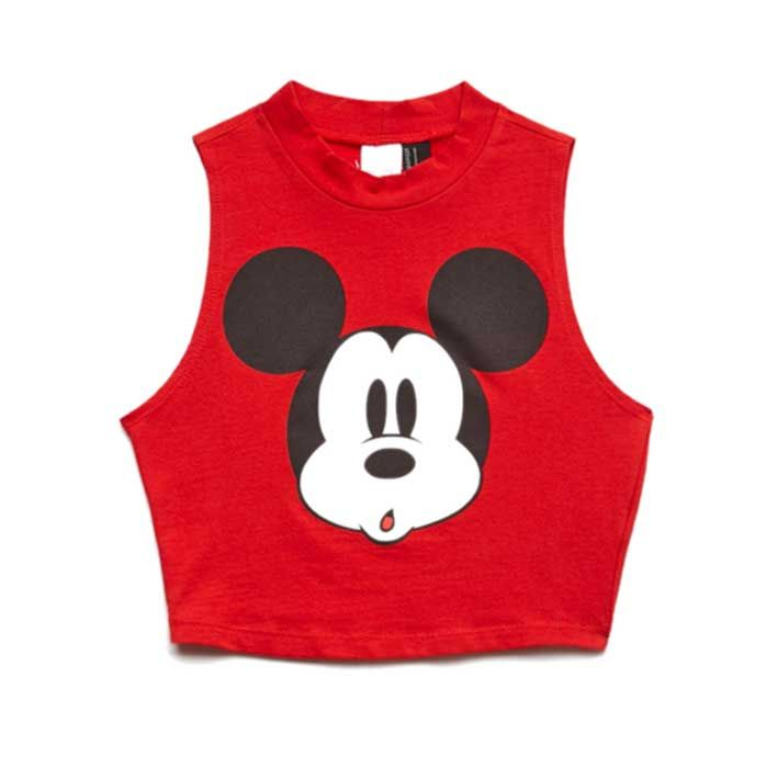 7b34f96f6e0f71 The Best Mickey Mouse Crop Tops