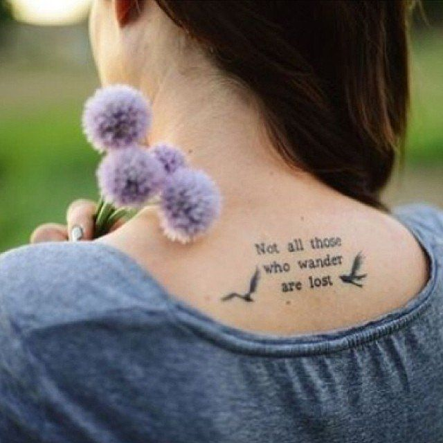 J D Salinger Tattoos Contrariwise Literary Tattoos: The Lord Of The Rings: Fellowship Of The Ring, J.R.R