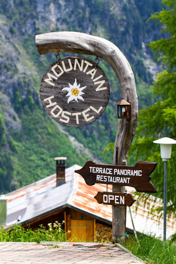 "Murren, Switzerland - except I'm frightened by anything with the word ""hostel"" in it. Damned Eli Roth and his movies...."