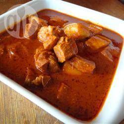 Curry met Varkensvlees
