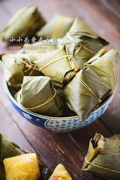 Rice Dumplings Wrapped in Bamboo Leaves (Zongzi) — Yankitchen