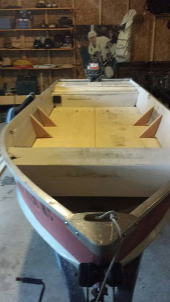 Aluminum Boat Fishing Conversation And Restoration