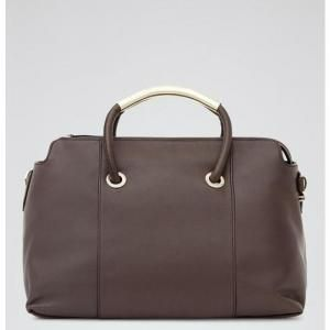 40% off Reiss - Tote Murphey Structured Brown - $312 #reiss #tote