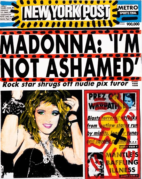 On July 10 1985, The Playboy magazine issue of nude Madonna photos was released.