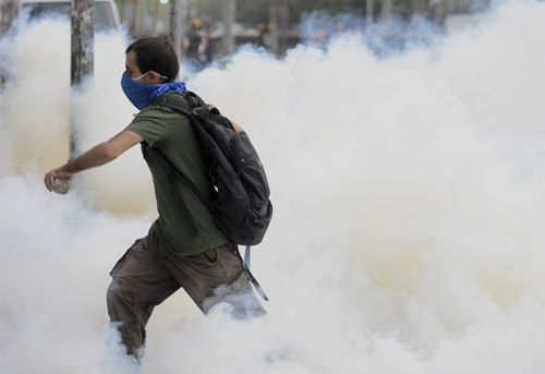 Kare kare orantısız şiddet - #occupygezi  #OccupyGezi