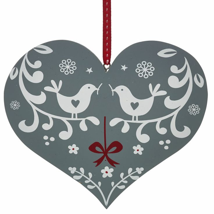 7 best forest friends christmas theme images on pinterest woodland wilko berry heart hanging decoration wooden solutioingenieria Choice Image