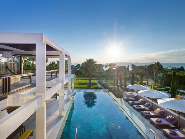 Luxury villa in the antibes house and decoration