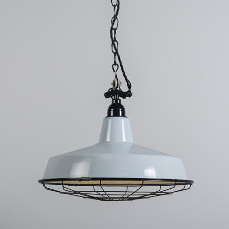Lámpara colgante LOEK azul claro #iluminacion #decoracion #interiorismo