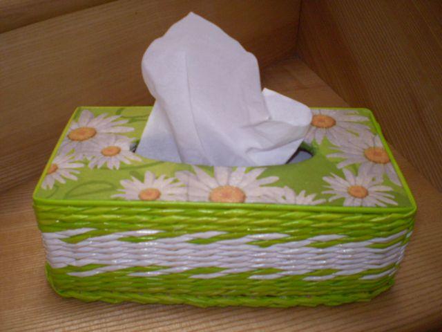 Caja de pañuelos