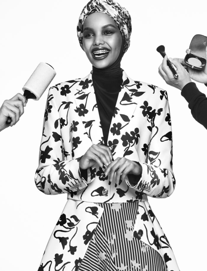 Snapshot: Halima Aden by Greg Kadel for Vogue Arabia June 2017 -