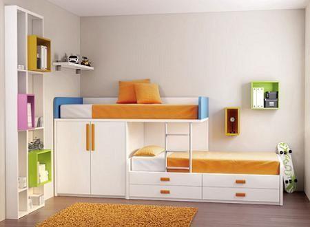 M s de 1000 ideas sobre dormitorios juveniles modernos en - Habitaciones tipo tren ...