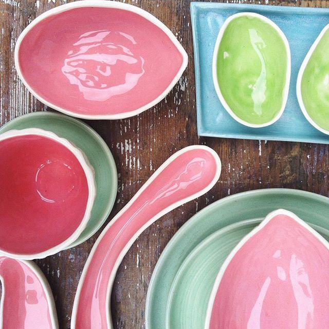 W lecie najlepsze są owoce 😉#ceramikazlanckorony #lanckorona #pottery #handmade #polishdesign #polskidesign #ceramics #polskaceramika #foodporn #tableware #fruits