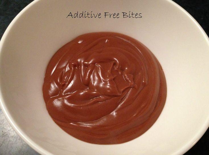 Additive Free Bites: Chocolate Coconut Custard