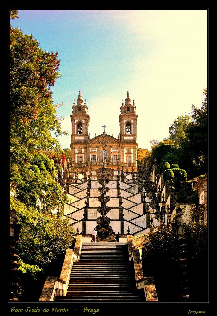 Bom Jesús do Monte - Braga, Portugal