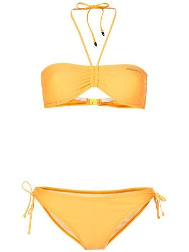 O'Neill Damen Bikini PW Solid Bandeau BCD: Amazon.de: Sport & Freizeit