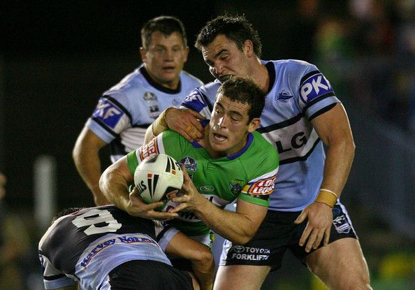 2008 Qualifying Final - Sharks V Canberra Raiders - Terry Campese