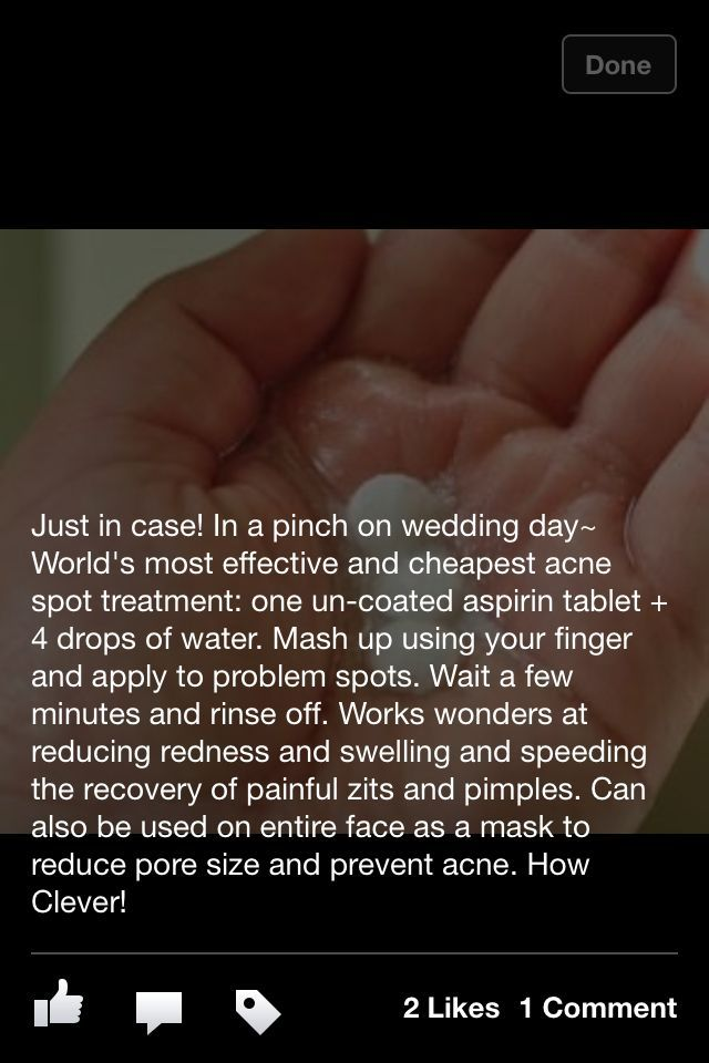 Get rid of pimples fast—- did this and love it!