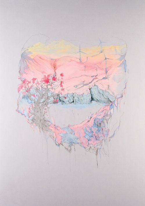 """Drawings by Katherine Tromans from The""""Paradise"""" Series #art"""