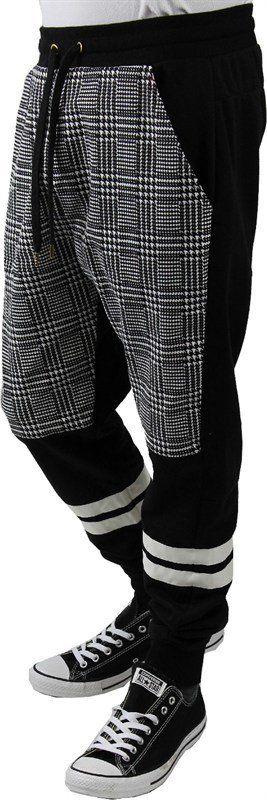 Drop Crotch jogger pants 3 tone Men from wholesalela@yahoo.